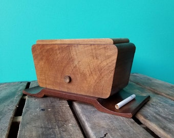 Wooden Cigarette Dispenser