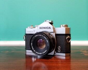 Konica Autoreflex T - Konica Hexanon  50mm f1.8