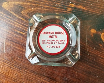 Harvard House Motel Ashtray