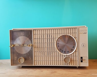 1960's Zenith AM/FM Alarm Clock Radio