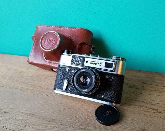 Featured listing image: Soviet Fed 5 Rangefinder