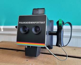 Polaroid Miniportrait 202 Instant Film Passport Photo Camera