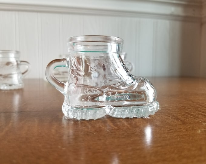 Glass Boot Shot Glass Set of Four