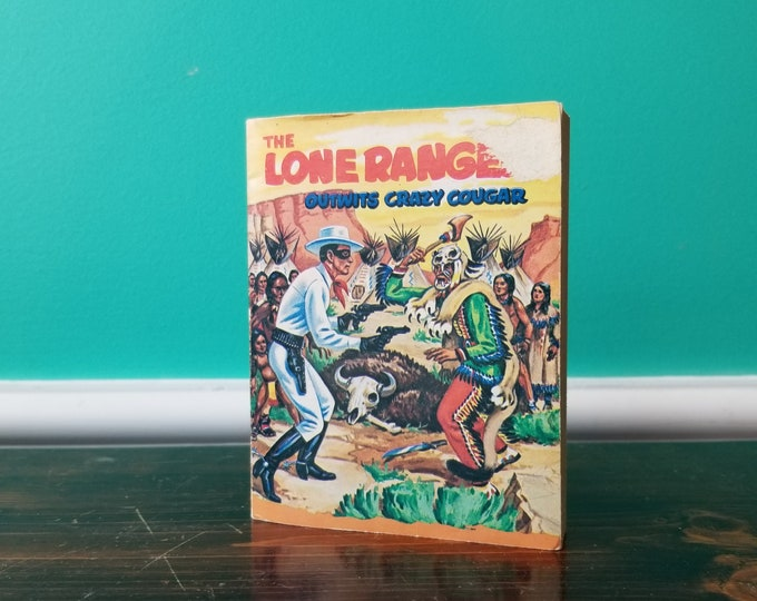 Big Little Books The Lone Ranger Outwits Crazy Cougar