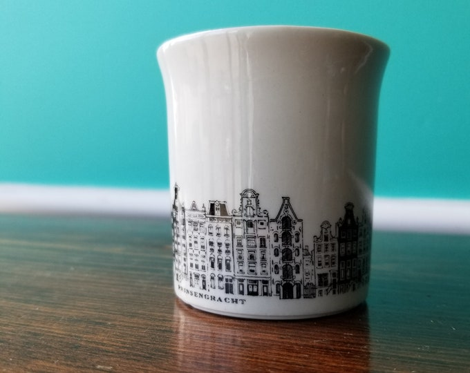 Prinsengracht Small Porcelain Commemorative Cup