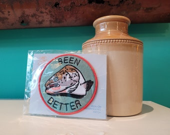 Been Better - Embroidered Patch - Stay Home Club