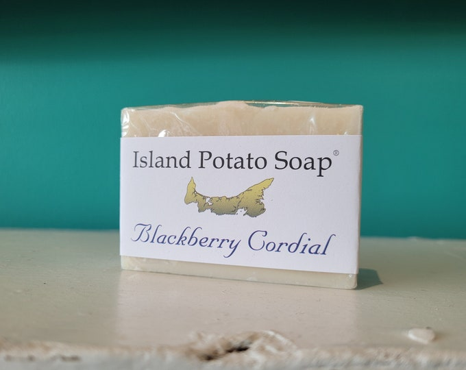 Island Potato Soap Co - Blackberry Cordial Soap