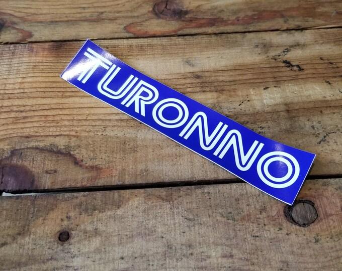 You Say Toronto We Say Turonno!