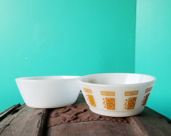 Pair of Anchor Hawking Bowls