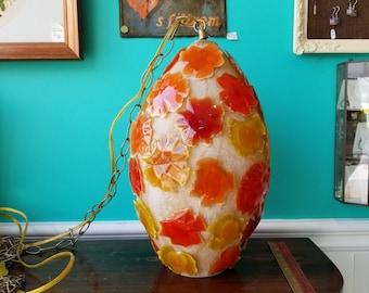 Midcentury Blobs Lucite Pendant Lamp