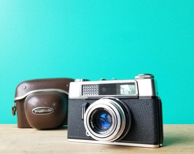 Voigtlander Vitoret DR - 35mm Film - Rangefinder with Light Meter