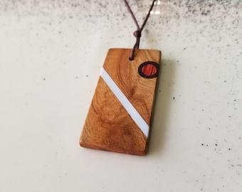 Handcrafted Wooden Inlay Necklace - Timmerwerk