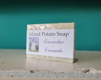 Island Potato Soap Co - Lavender Soap