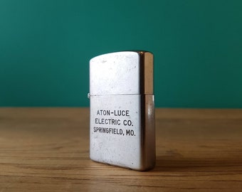 Working Lighter - With Vintage Advertising - Springfield, MO