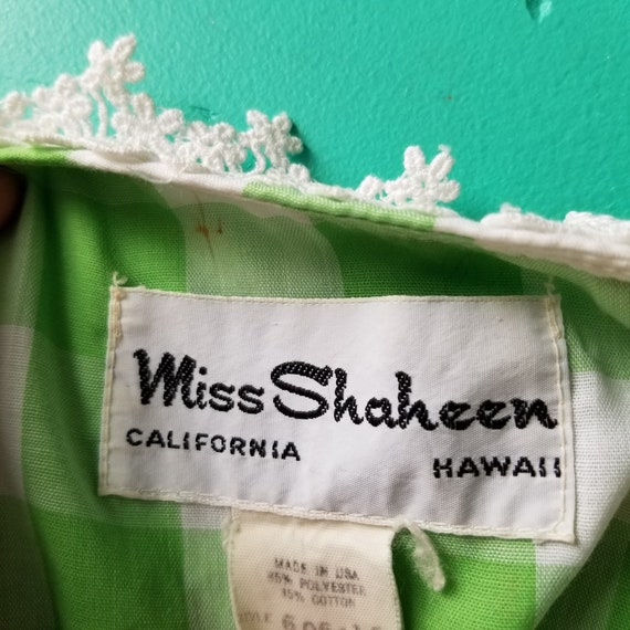 Miss Shaheen Dress - Made in USA - Alfred Shaheen - image 7
