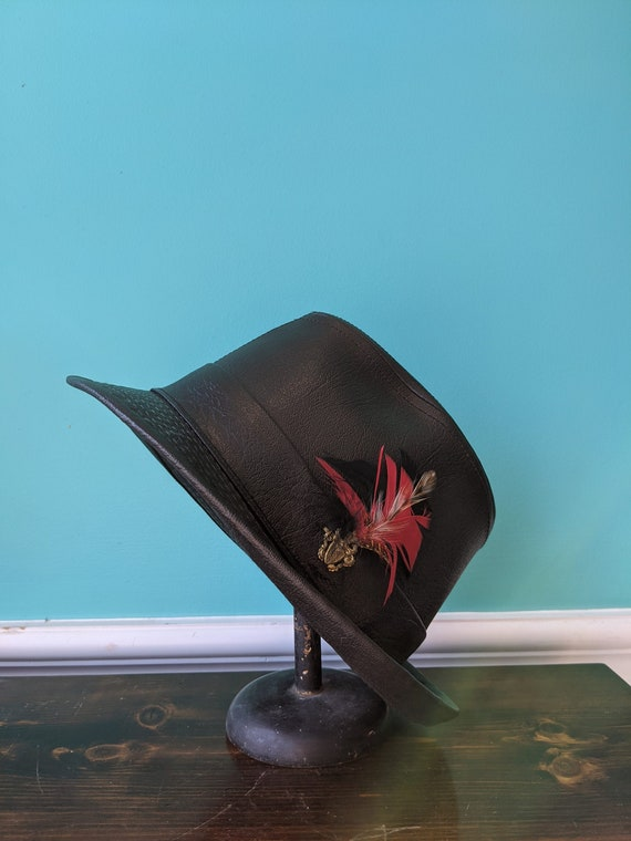 Your Dad's 1970's Leather Trilby