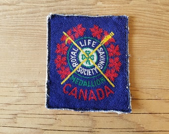 Royal Life Saving Society Award of Merit Patch - Toronto