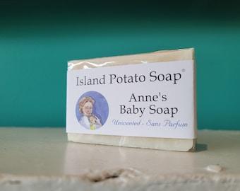 Island Potato Soap Co - Unscented Baby Soap