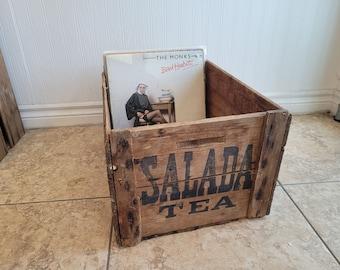 Salada Tea Crate