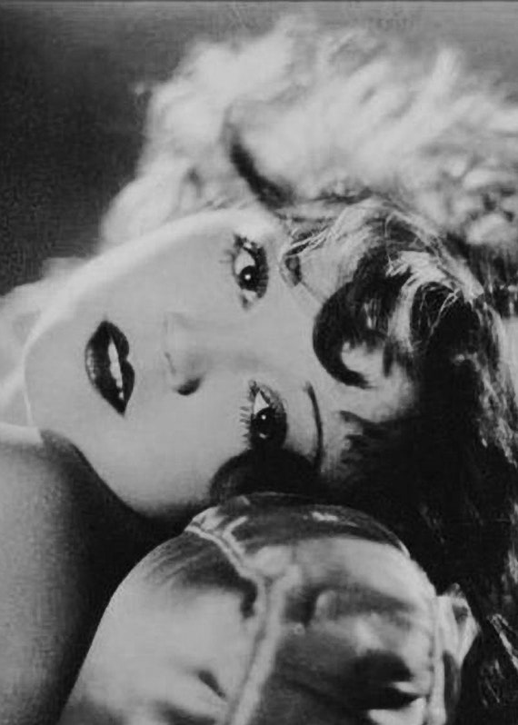 VINTAGE Hollywood Starlet Follies Actress SHOW GIRL Photo Photograph REPRINT 114