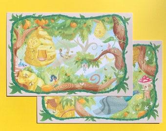 Fairy Grove Postcard Set