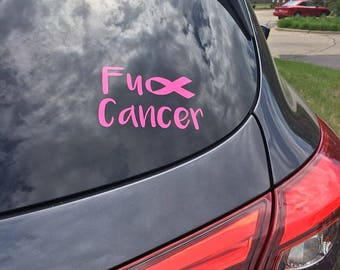 Computer!!! Windows Outdoors Phone I CAN FIGHT CANCER Decal Sticker for Car