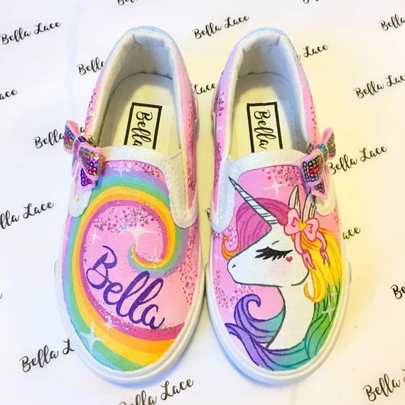 Unicorn shoes unicorn birthday party