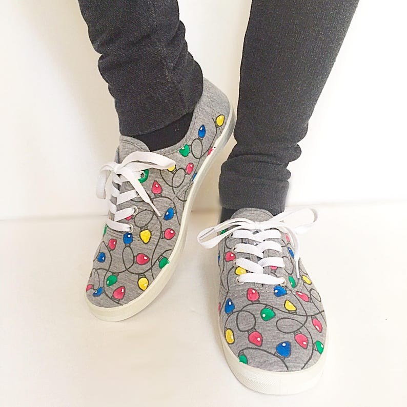 online store b1886 11af9 Christmas shoes holiday shoes winter shoes ugly sweater   Etsy