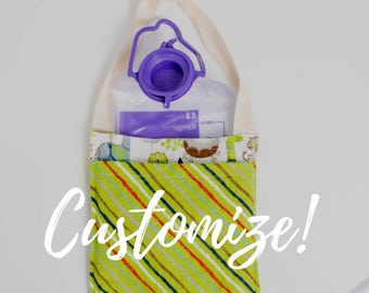 Freezy Pocket™ CUSTOM SIZE Cold Storage Bag for Enteral G-Tube Feeding