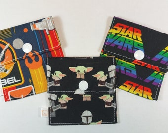 Tubie Pockets® Set of 3 Star Wars NG and NJ Tube Moveable Storage Pockets