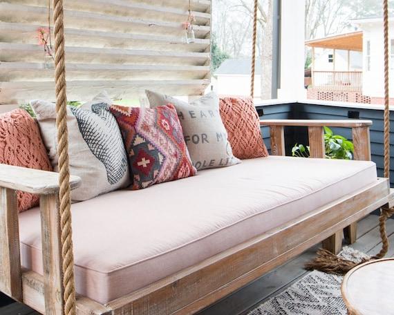 Sunbrella Daybed Custom Cushion Home Decor Porch Swing Bed Etsy