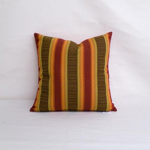 Indoor Outdoor Sunbrella Dimone Sequoia 18x18 Throw Pillow Etsy
