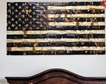 acd71e1426c6 Rustic American Flag