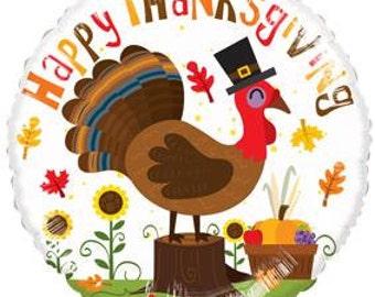 Thanksgiving Balloon, Happy Thanksgiving, RoundThanksgiving Balloon, Thanksgiving Celebration, Thanksgiving Decoration, Thanksgiving Decor