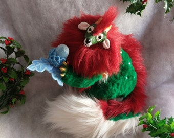 SOLD Festive Trixx Poseable Art Doll (AVAILABLE made to order)