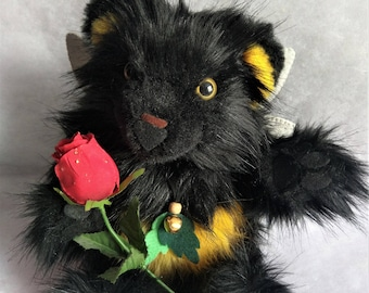 Bumble Bear Plush Doll