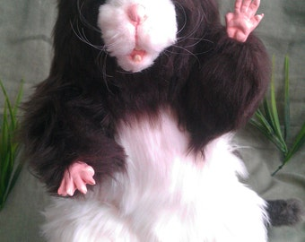 SOLD Dusty the Rat Poseable Art Doll (AVAILABLE made to order, see below for details)