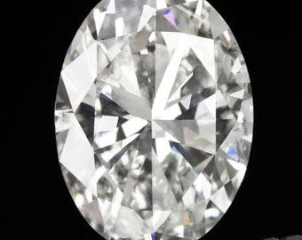 268def9dd 1.64Ct Oval Cut Diamond Certified D Color Loose Natural 1.5 Carat 1.5Ct  Pendant White Colorless Engagement (12199)