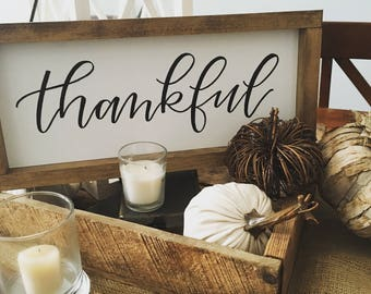 Thankful Sign