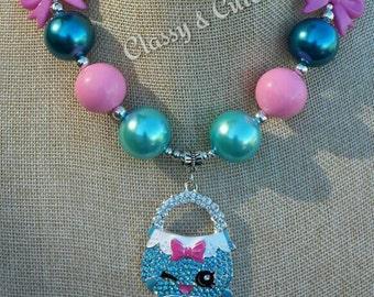 Shopkins Purse Necklace