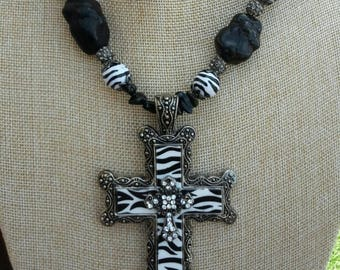 Western Cross Necklace