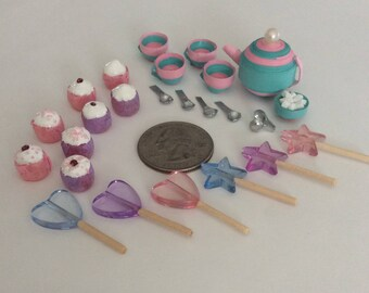 Miniature tea party set (New Years clean out sale!)