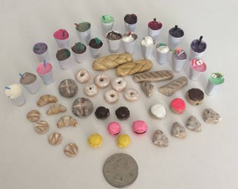 Miniature food and drink lot (New Years clean out sale!)