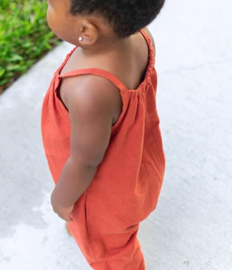 Boho Baby Romper Pattern