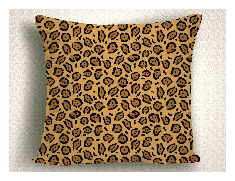 Man Cave African Accent Pillows Unique Cheetah Print Throw Pillow