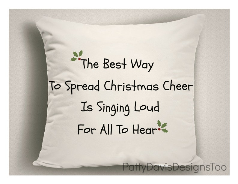 fa7a82b1d98 Christmas Pillow The Best Way To Spread Christmas Cheer