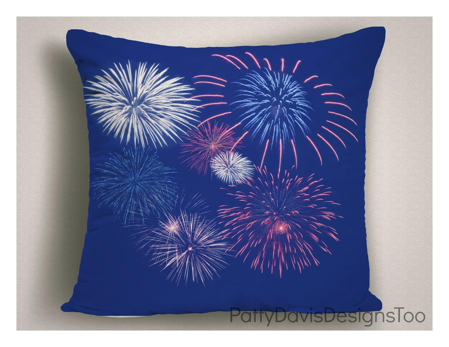 4th Of July Decorations Independence Day Patio Pillow Outdoor