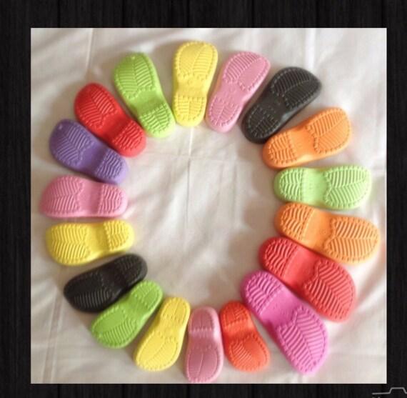 Gummisohle Für Häkeln Handgemachte Schuhsohle Sohle Schuhe Etsy