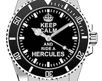 Watch 1626-Keep calm and ride a Hercules