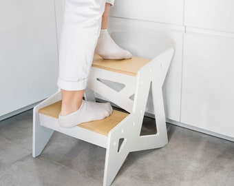 Modern Step Stool Etsy
